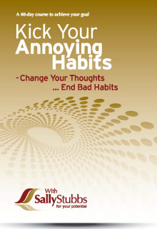 KICK ANNOYING HABITS - MP3 Download option